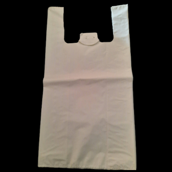 70% recycled T-shirt bags